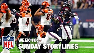 Sunday's Best (and Worst) Moments from Christmas Weekend 🎄 | NFL Week 16 Sunday Storylines