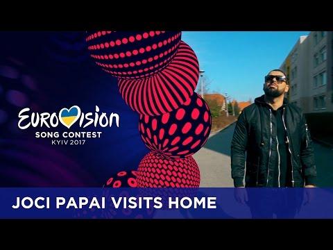 Joci Pápai (Hungary) shows his hometown Tata