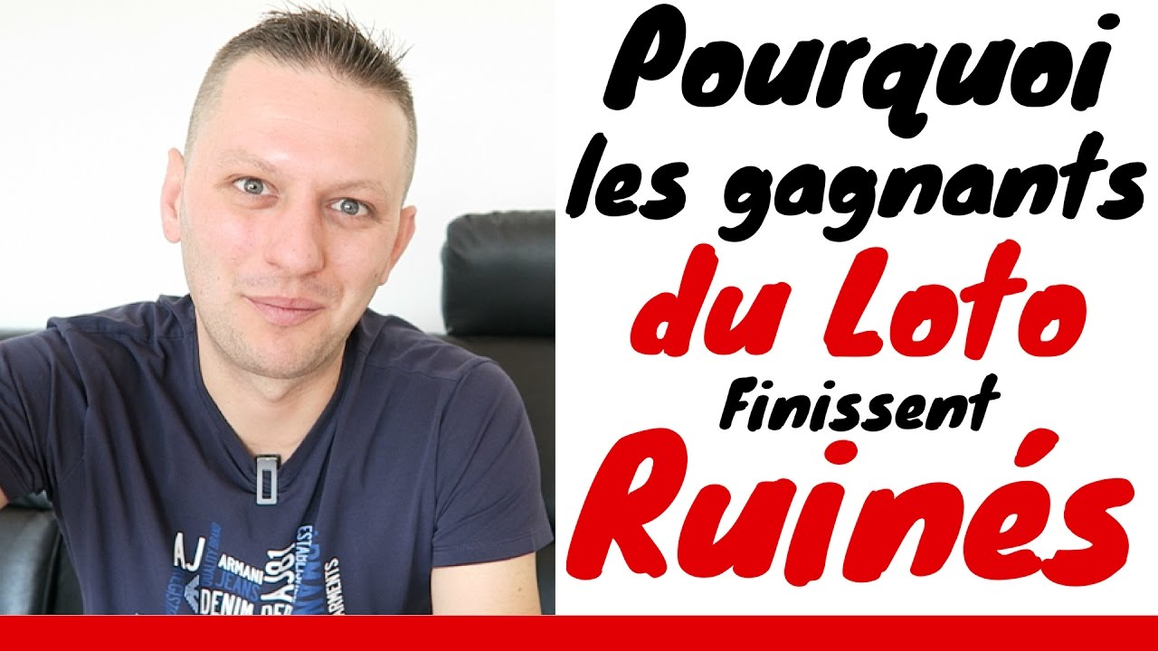 pourquoi les gagnants du loto finissent ruin s youtube. Black Bedroom Furniture Sets. Home Design Ideas
