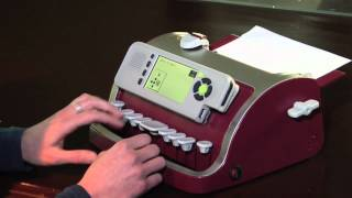 видео Дисплей Брайля Hims Braille Edge 40
