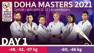 Day 1 - commentated: Doha World Judo Masters 2021