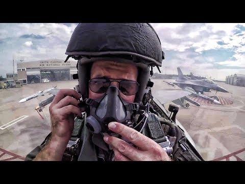 F-16 Pilot Prep, Maintenance & Munitions & Cockpit Video