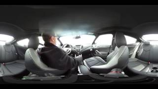 2016 Hyundai Veloster Test Drive in 360 Degrees смотреть