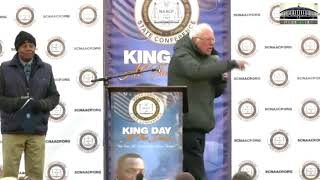 Bernie Sanders and Tulsi Gabbard brilliant speech in King Day Rally (SC) What's Andrew Yang up to Leading Democratic 2020 Hopefuls Commemorate MLK Day In South Carolina, Iowa. Most of the top-tier candidates -- former Vice President Joe Biden, former ..., From YouTubeVideos