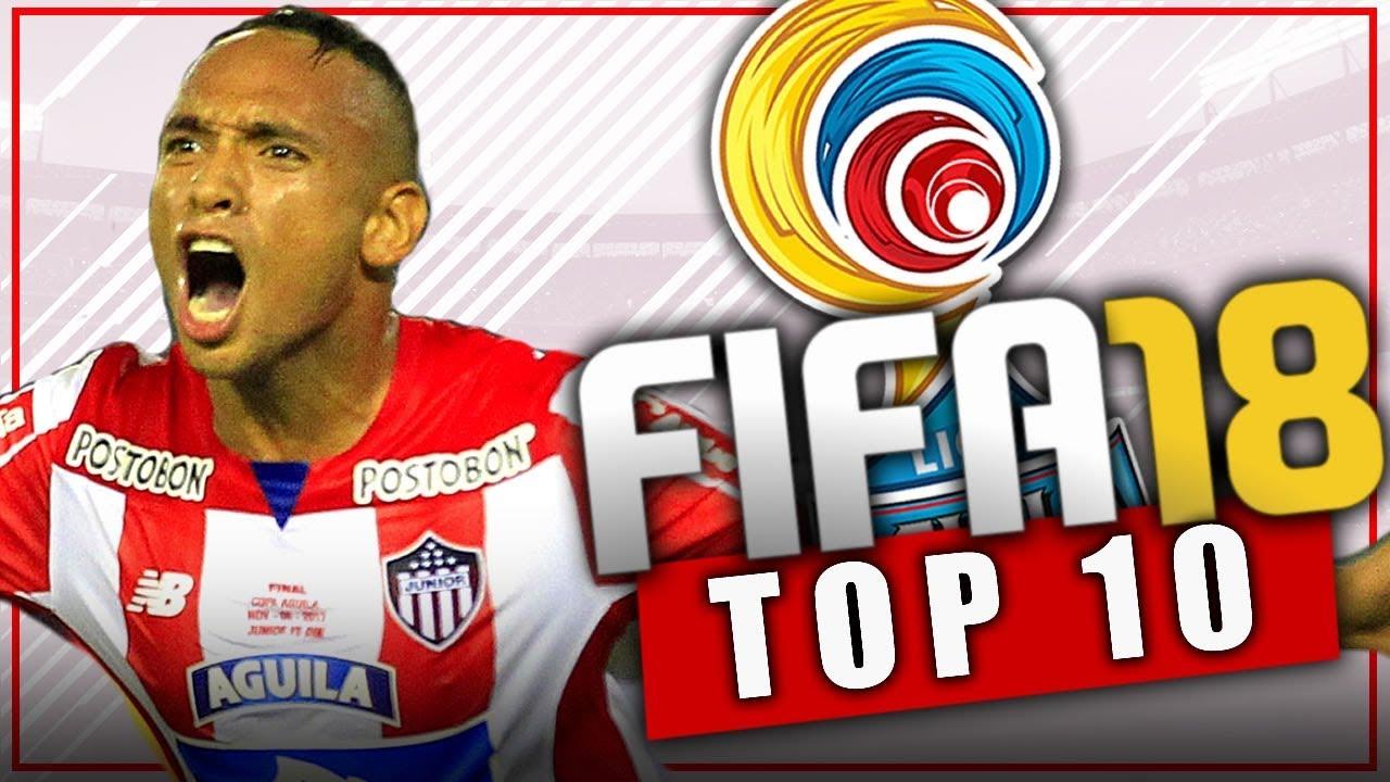 Fifa 18 top 10 jovenes promesas de la liga de colombia for Esteban paredes fifa 18