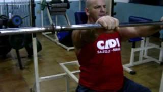 academia visando atletismo (dardo,disco e peso)1 outubro 2009treino