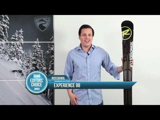 2013 Rossignol Experience 98 - OnTheSnow All-Mountain Editors' Picks