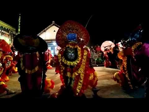 WIJOYO KUSUMO PUTRO LIVE wonorejo Rampokan singo barong HEBOH