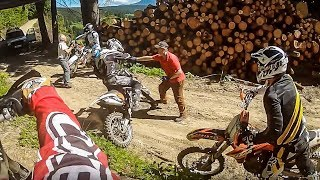 ANGRY FORESTER ATTACKS MOTOCROSS RIDER Enduro_Motocross 🔰Dirtbike FreaX🔰