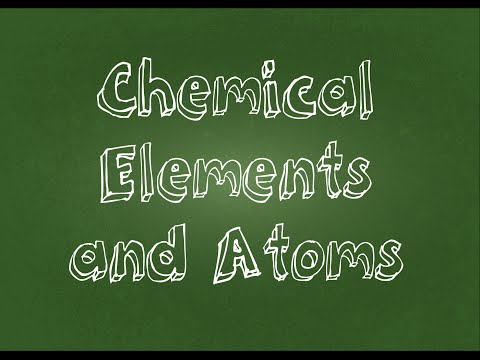Atoms and Chemical Elements