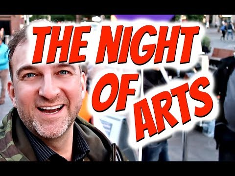 The Night of Arts | Amazing night in Helsinki