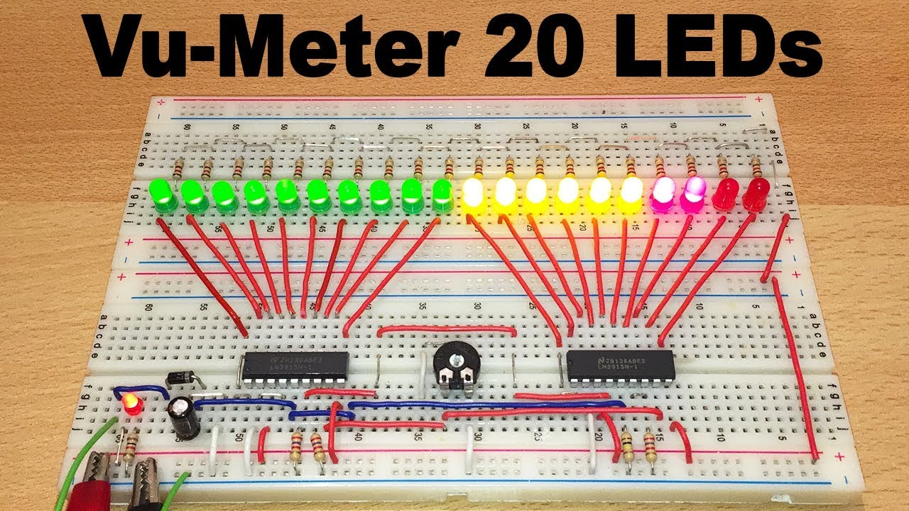 maxresdefault  Led Vu Meter Schematic on american audio, schematic diagram for 6, schematics for bass, bar graph,