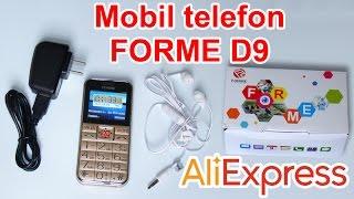 FORME телефон D9 - Aliexpress.com-від прив'язки #34 (and review розпакування - розпакування та огляд)