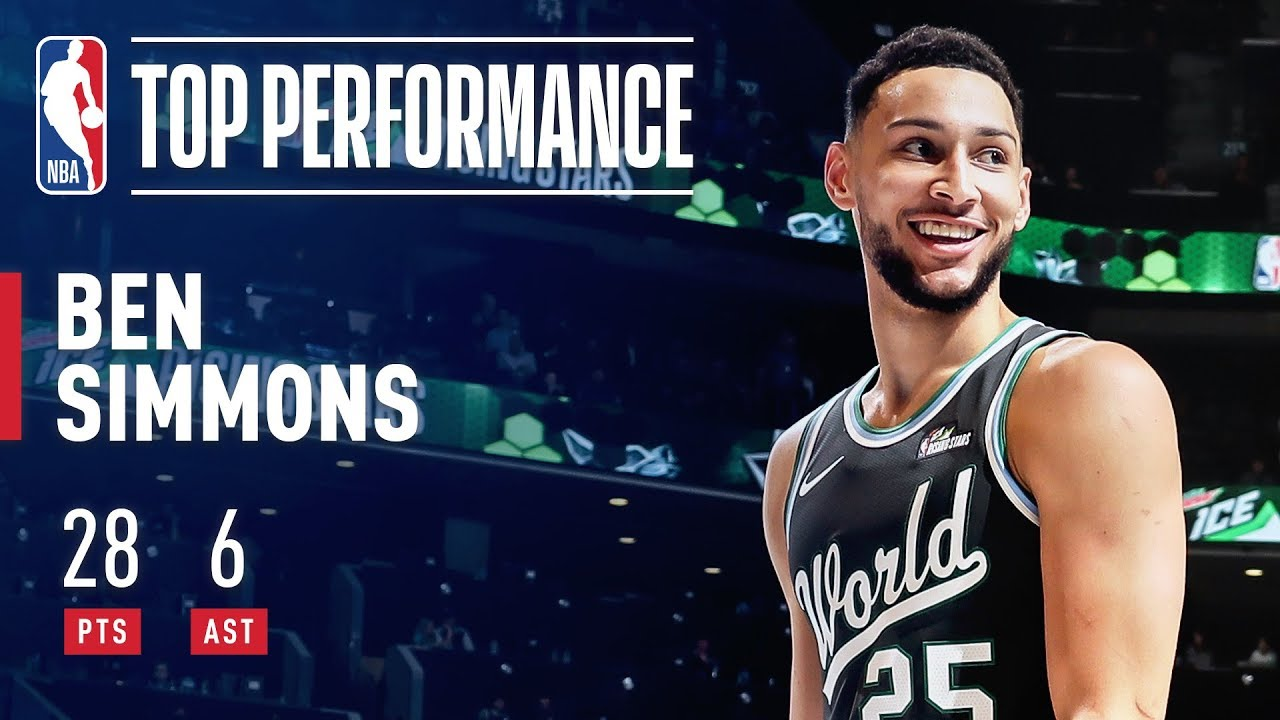 00e44f891 Ben Simmons Puts Up 28 Points   6 Assists In Rising Stars Game ...