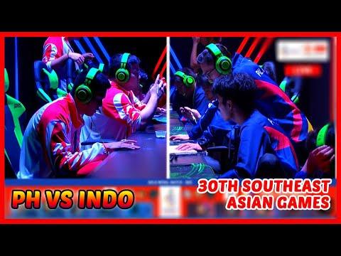 Philippines Vs Indonesia | SEA Games Finals Game 3 - Mobile Legends