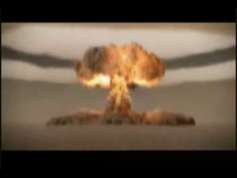 Animated Atomic Bomb Explosion - YouTube
