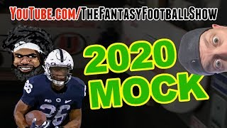 2020 Fantasy Football Mock Draft (way too early mock)