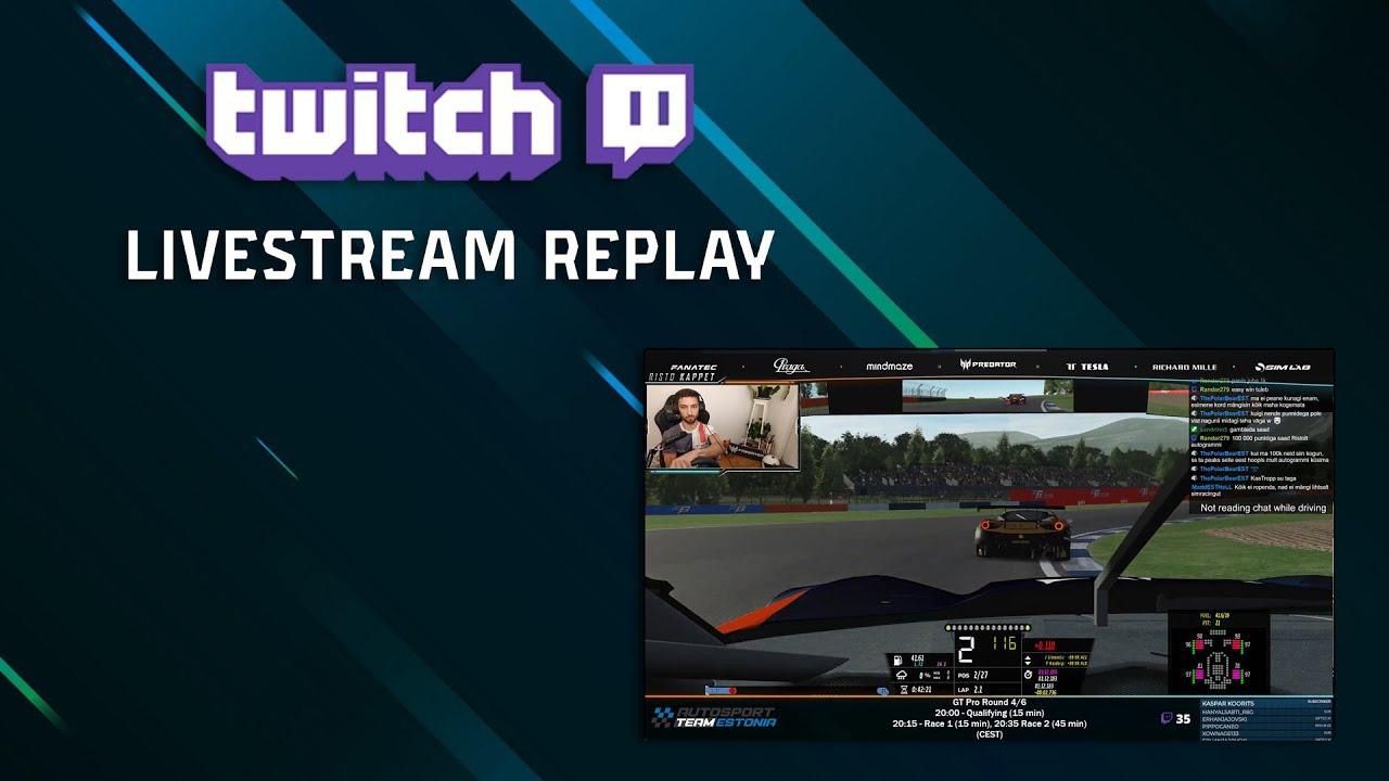 Live: rF2 GT Pro S4 R4/6 Loch Drummond