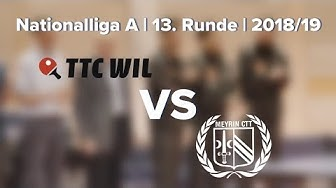 Nationalliga A | 13. Runde | 2018/19 | TTC Wil vs. CTT Meyrin