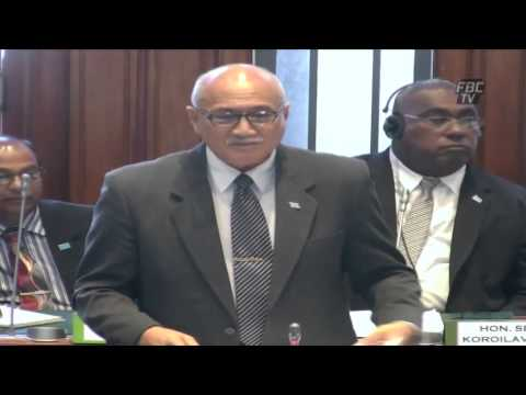 Statement by Fijian Minister for Employment Jioji Konrote