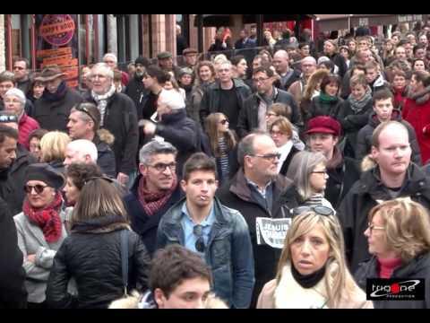"Manifestation ""Je suis Charlie"" * Trigone Production 2015"