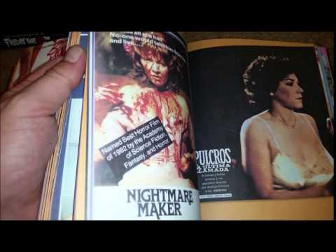 RES Horror Movie Book Collection 5142015