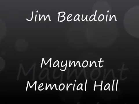 Jim Beaudoin at the Maymont Memorial Hall