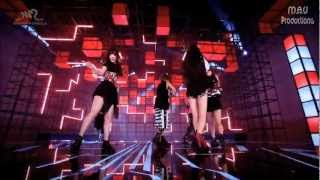 f x 에프엑스 electric shock dance version mirrored