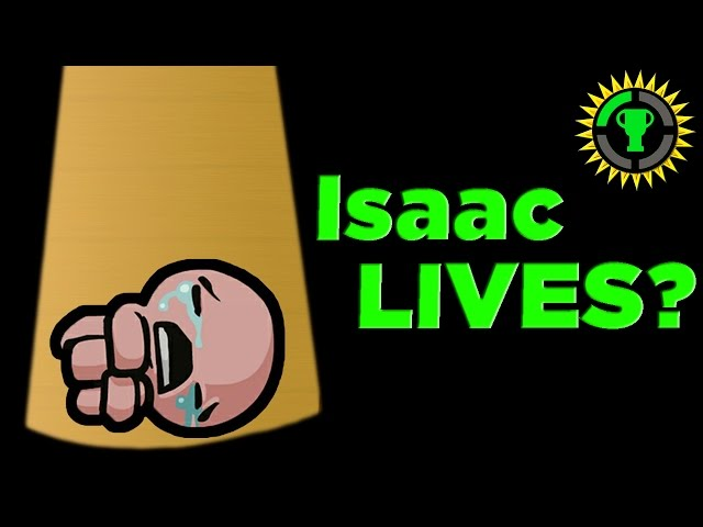 Game Theory:  Does Isaac DIE?!? Binding of Isaac Rebirths Endings EXPLAINED.