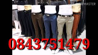 กางเกงสแล็คผู้ชาย แม่ค้าโทร0843751479