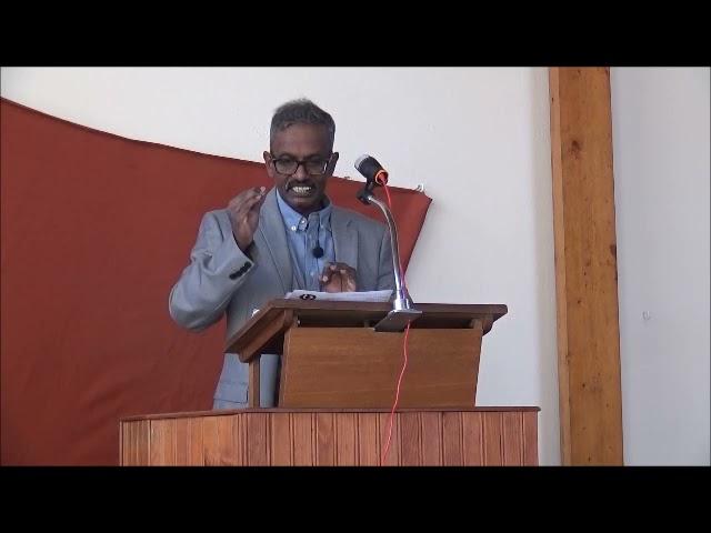 Vashti  - Tamil Sermon By Elder Tharmarajah KANDASAMY
