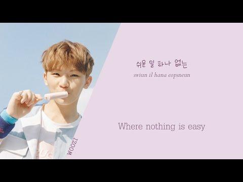 SEVENTEEN (세븐틴) - Woozi solo (우지) - SIMPLE (Color coded Han/Rom/Eng) lyrics