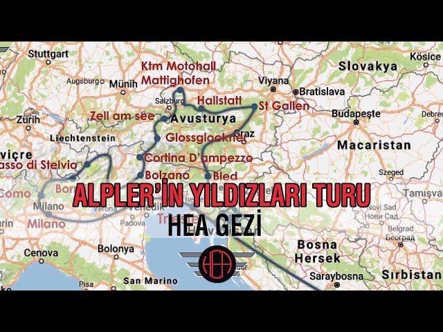 HEA Gezi - Alpler'in Yıldızları Turu