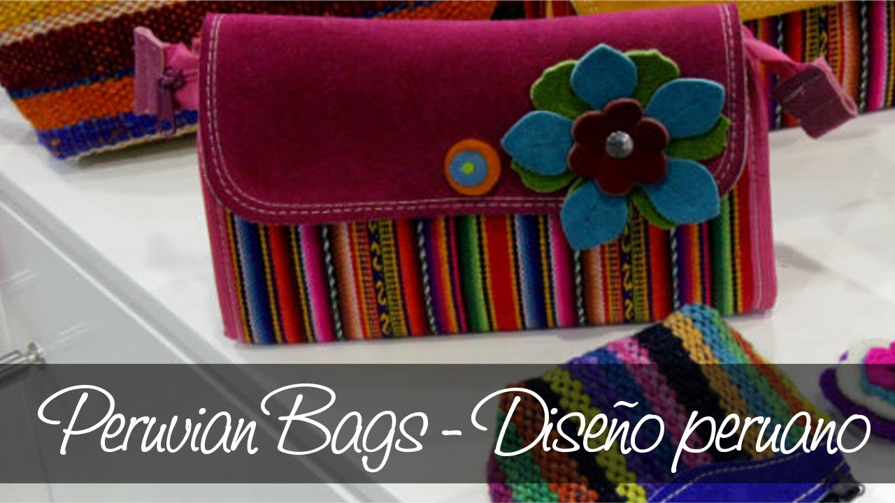Peruvian Bags en Peru Moda 2014  117596effb2