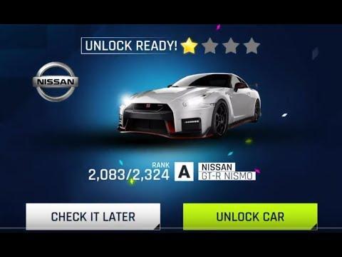 Asphalt 9 Nissan GTR HD