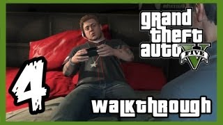 "Grand Theft Auto V Walkthrough PART 4 [PS3] Lets Play Gameplay TRUE-HD QUALITY ""GTA 5 Walkthrough"""