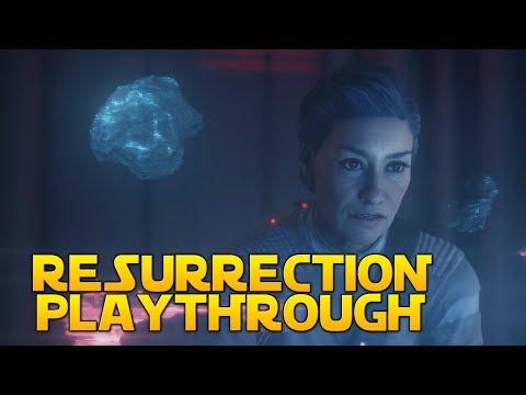 RESURRECTION PLAYTHROUGH - Star Wars Battlefront 2 The Last Jedi