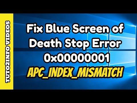 how to fix stop error blue screen