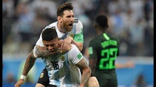 Argentina 2 x 1 Nigéria - Globo HD   Melhores Momentos