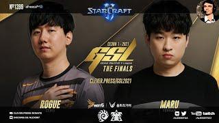 ИСТОРИЧЕСКИЙ ФИНАЛ | GSL 2021 Season 1 FINAL: Rogue vs Maru - Корейский StarCraft 2 c Alex007 и kaby