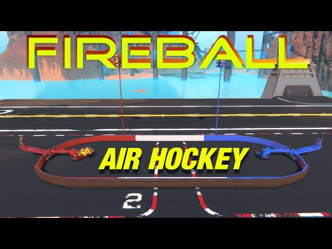 2 Player Fireball Air-Hockey Mini-Game and More! Trailmakers Creations by ThatDomGuy #109  