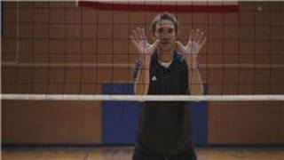 volleyball how to block a volleyball