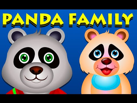 Panda Finger Family And Many More Nursery Rhymes