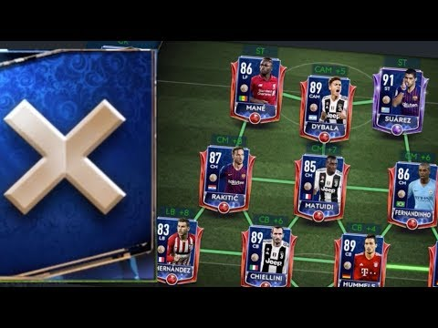 Full TOTY Nominee Squad in FIFA Mobile 19! Defender TOTY Packs!