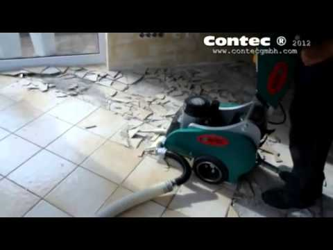 The Bull Floor Stripper Removing Ceramic Tiles Pwm Sales Ltd Youtube
