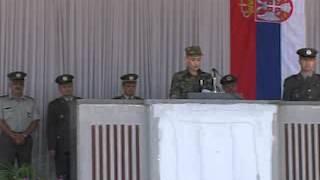 Promocija rezervnih oficira Vojske Srbije - Rezervni potporučnik Dragan Stanar