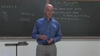 Jamie York's Core Principles for Teaching Math