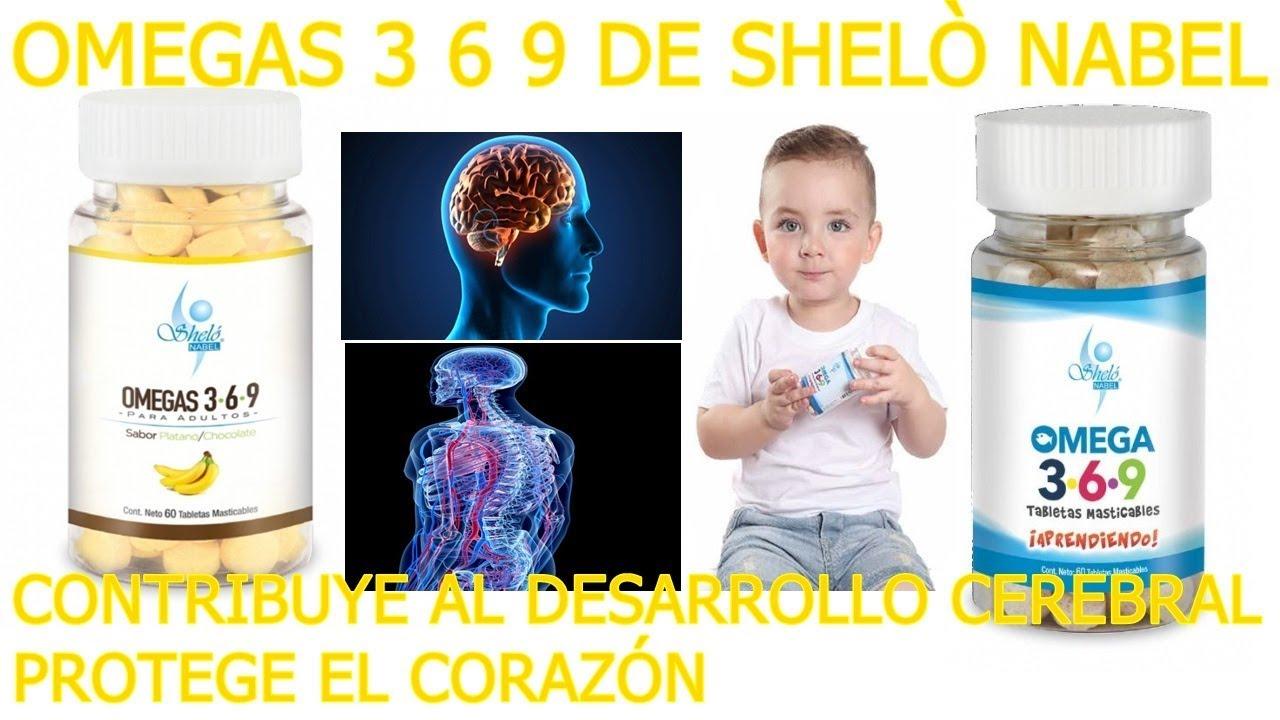 pastillas de omega 3 para niños