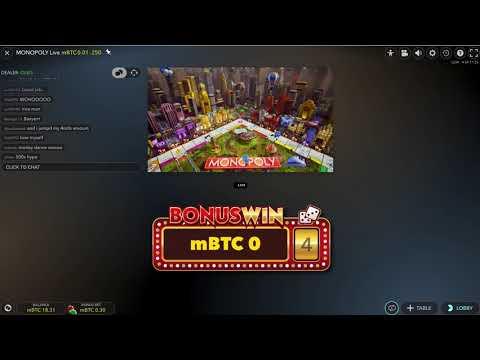 Monopoly Live Casino Game 10x Chance 4 Rolls Mega Jackpot Win (horrible Video Problems)