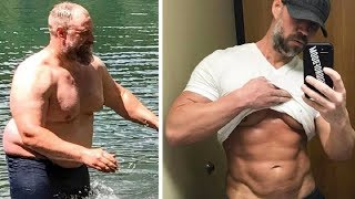 This Dad Of Three Did Something Extreme For Six Months And Now He Looks Like A Completely New Man